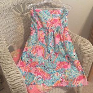 Lilly Pulitzer Wyatt Flamingo Dress
